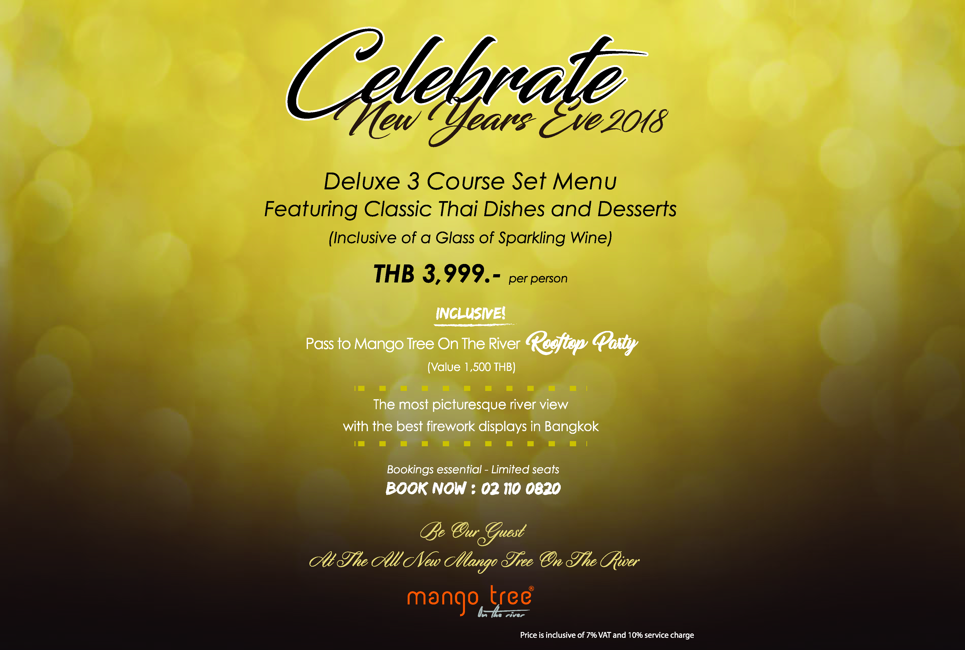 Let's Countdown at Mango tree on the River.